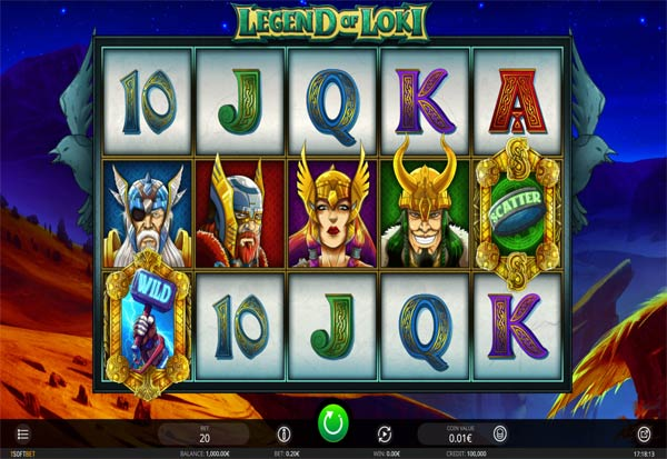 Legend Of Loki 777 Slots Bay game