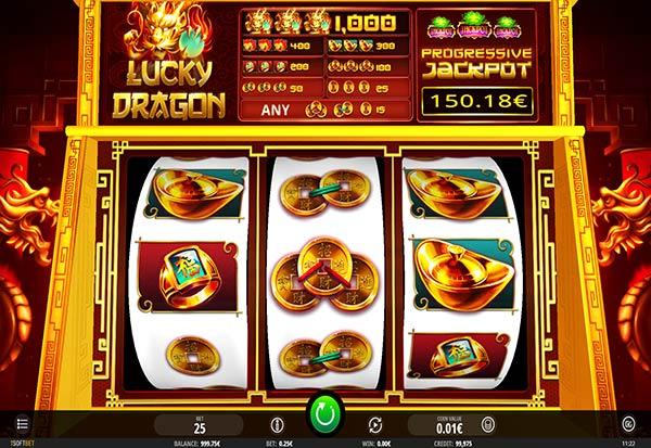 Lucky Dragon 777 Slots Bay game