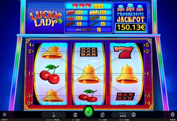 Lucky Lady 777 Slots Bay game