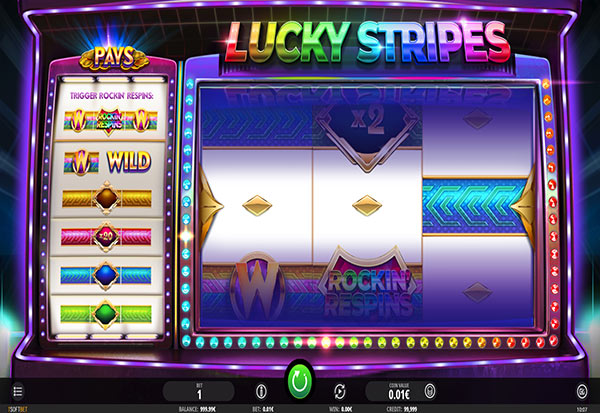 Lucky Stripes 777 Slots Bay game