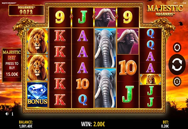 Majestic megaways 777 Slots Bay game