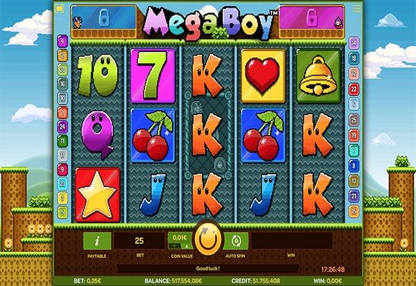 MegaBoy 777 Slots Bay game