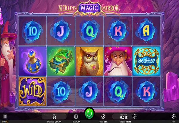 Merlin's Magic Mirror 777 Slots Bay game