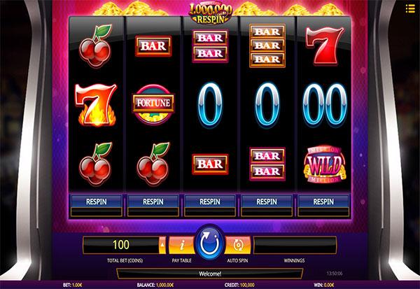 Million Coins Respin 777 Slots Bay game