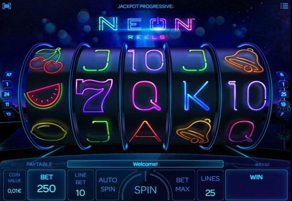 Neon Reels 777 Slots Bay game