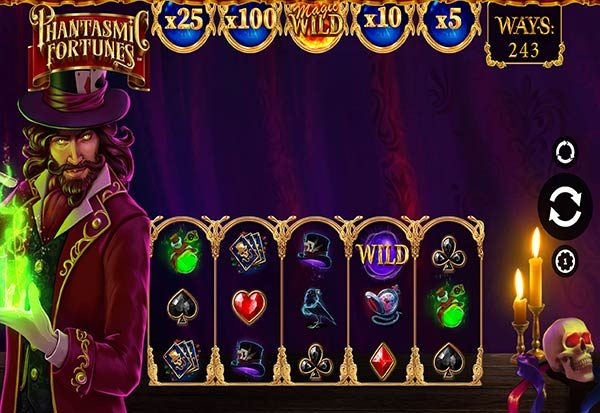 Phantasmic Fortunes 777 Slots Bay game