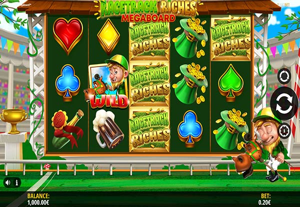 Racetrack Riches 777 Slots Bay game
