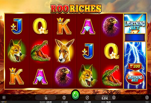 Roo Riches 777 Slots Bay game