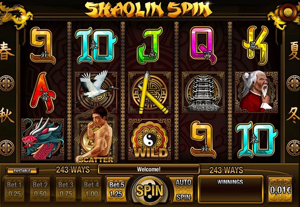Shaolin Spin 777 Slots Bay game