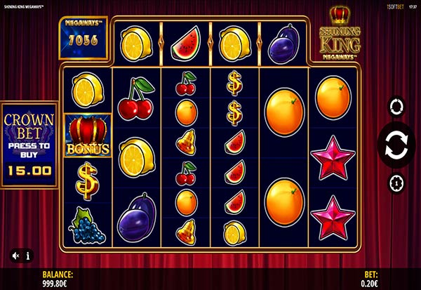 Shining King Megaways 777 Slots Bay game