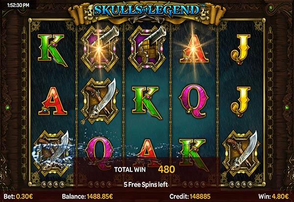 Skulls Of Legend 777 Slots Bay game