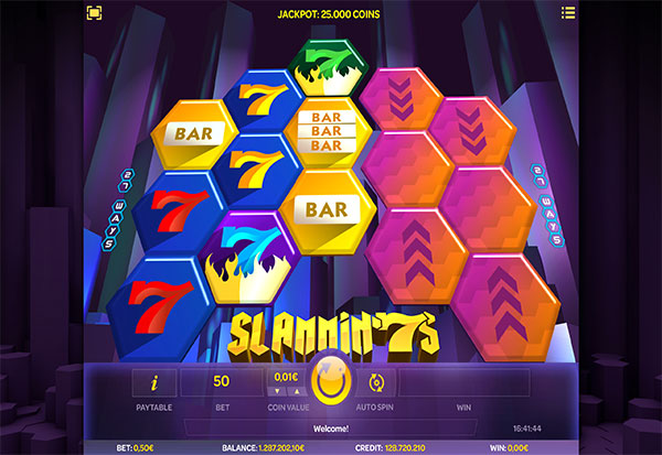 Slammin 7's 777 Slots Bay game