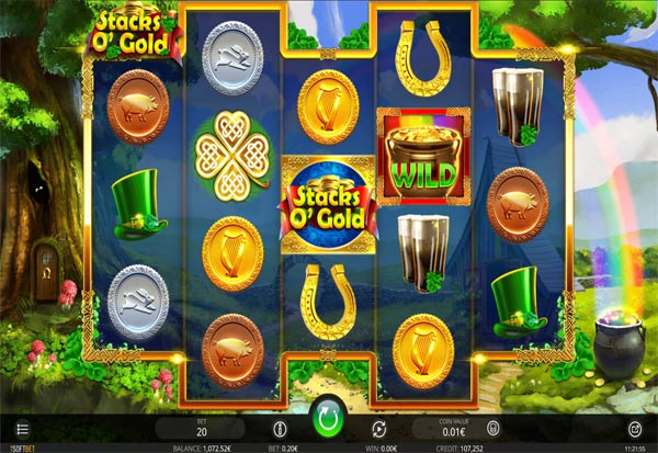 Stacks O'Gold 777 Slots Bay game