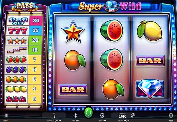 Super Diamond Wild 777 Slots Bay game