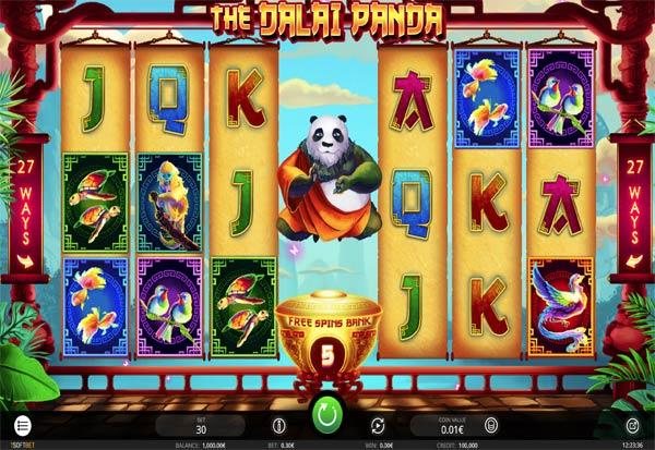 The Dalai Panda 777 Slots Bay game