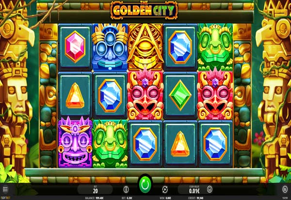 The Golden City 777 Slots Bay game