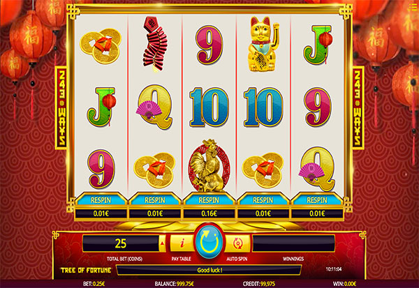 Tree Of Fortune 777 Slots Bay game