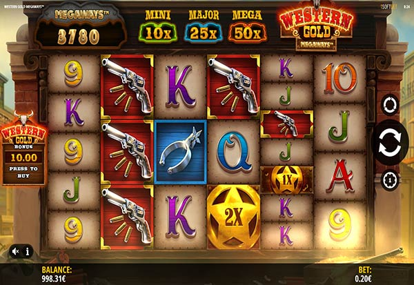 Western Gold Megaways 777 Slots Bay game