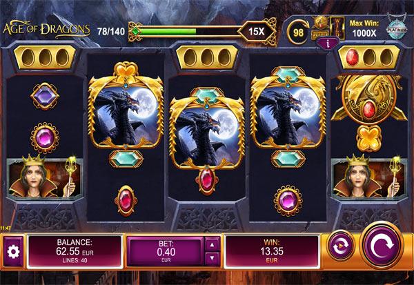 Age of Dragons 777 Slots Bay game