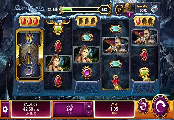 Age of Ice Dragons 777 Slots Bay game
