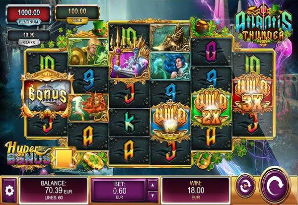 Atlantis Thunder St. Patrick's Day 777 Slots Bay game