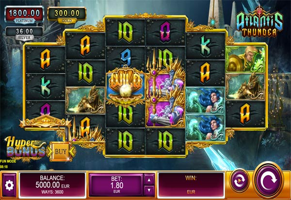 Atlantis Thunder 777 Slots Bay game