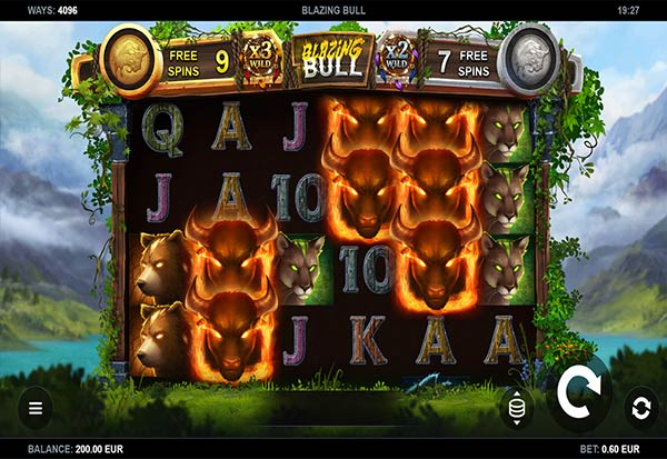 Blazing Bull 777 Slots Bay game