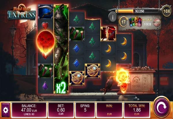 Blood Moon Express 777 Slots Bay game
