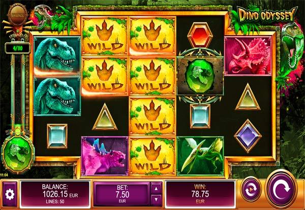 Dino Odyssey 777 Slots Bay game