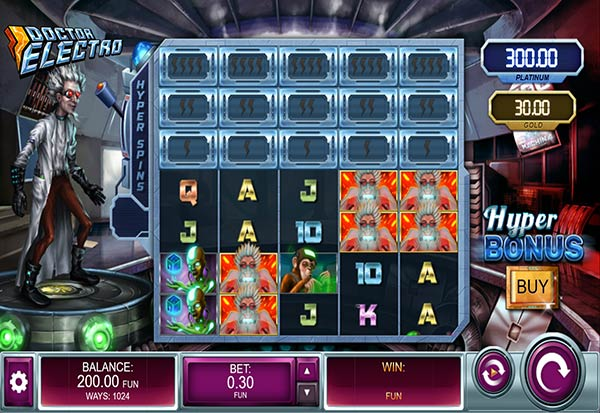 Doctor Electro 777 Slots Bay game