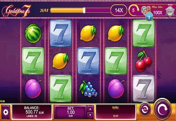 Goldfire 7s 777 Slots Bay game