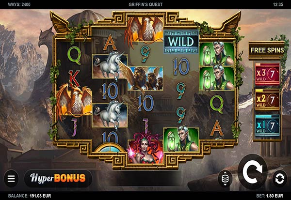 Griffin's Quest 777 Slots Bay game