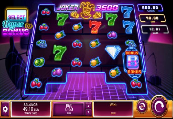 Joker 3600 777 Slots Bay game