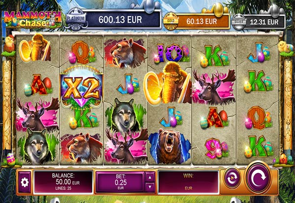 Mammoth Chase Easter Edition 777 Slots Bay game