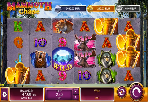 Mammoth Chase 777 Slots Bay game
