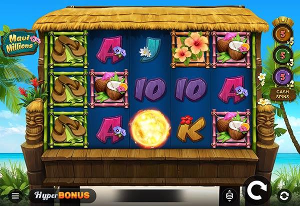 Maui Millions 777 Slots Bay game