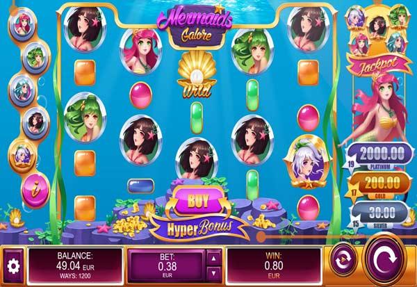 Mermaids Galore 777 Slots Bay game