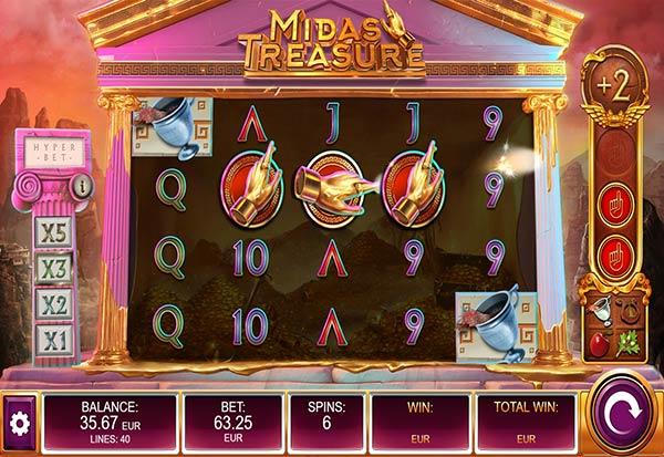 Midas Treasure 777 Slots Bay game