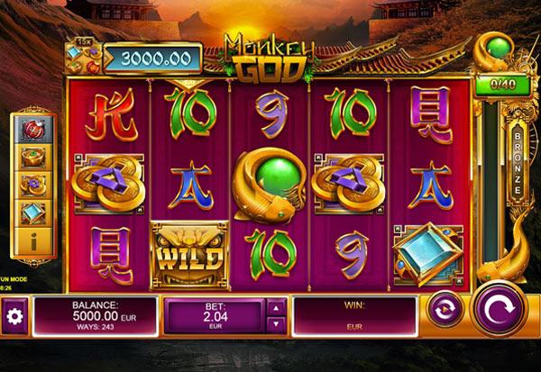 Monkey God 777 Slots Bay game