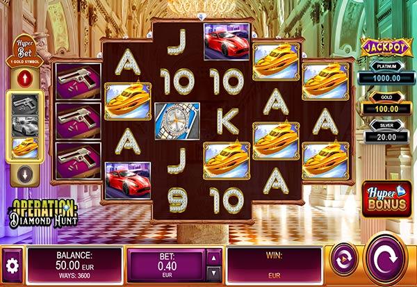 Operation Diamond Hunt 777 Slots Bay game