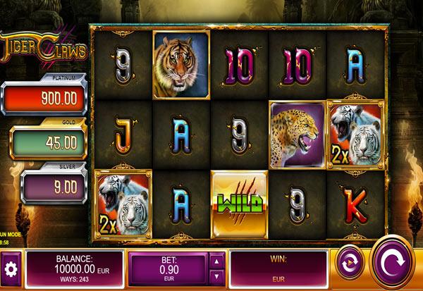 Tiger Claws 777 Slots Bay game