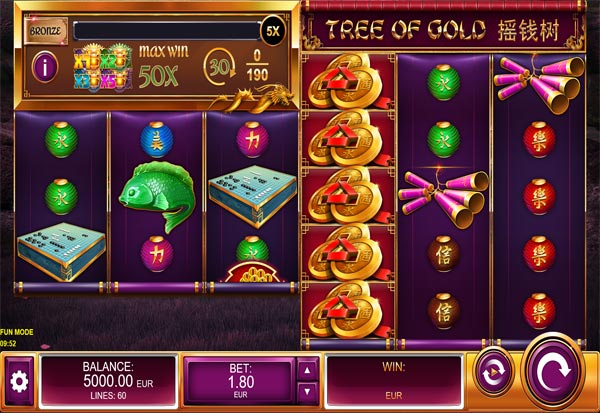 Tree of Gold 777 Slots Bay game