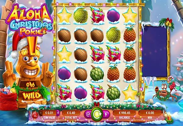 Aloha Christmas Pokie 777 Slots Bay game