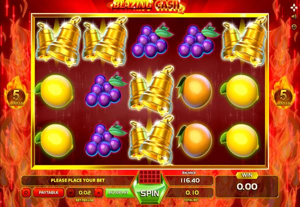Blazing Cash 2 777 Slots Bay game