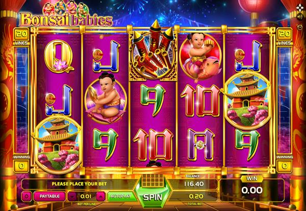 Bonsai Babies 777 Slots Bay game