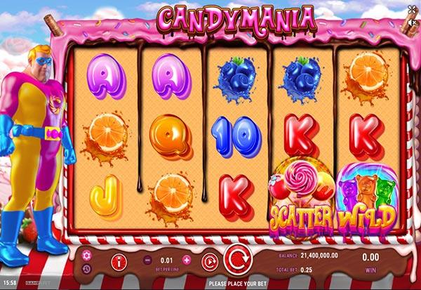 CandyMania 777 Slots Bay game