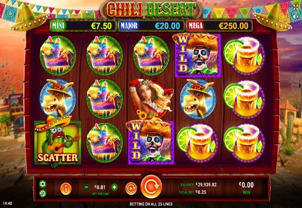Chili Desert 777 Slots Bay game