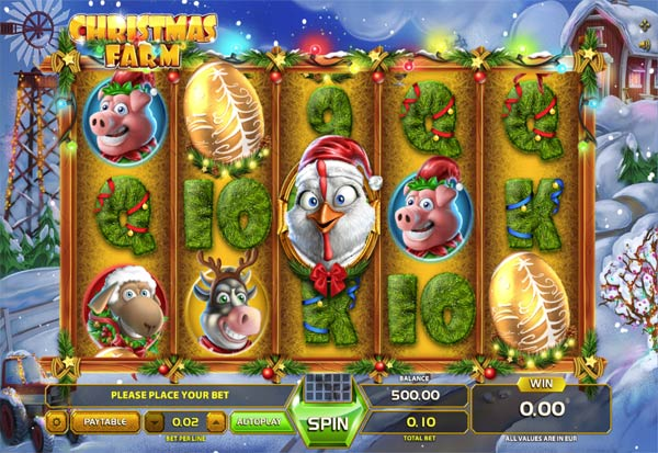 Christmas Farm 777 Slots Bay game