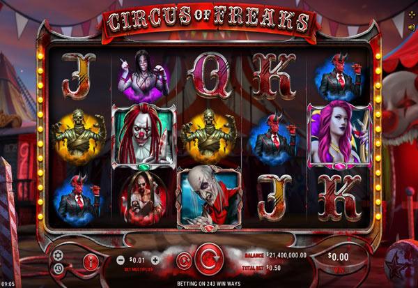 Circus Of Freaks 777 Slots Bay game