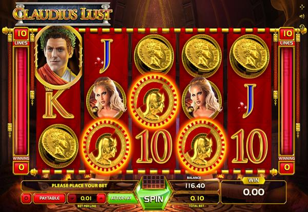Claudius Lust 777 Slots Bay game